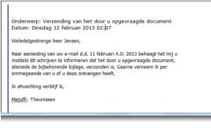 voorbeeld bedankbrief sollicitatie Heldere brieven schrijven, hoe doe je dat? | voorbeeld bedankbrief sollicitatie
